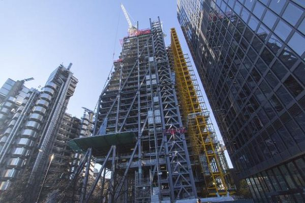 Leadenhall construction asset tracking
